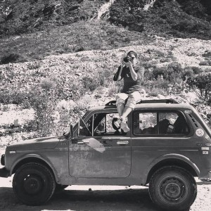 Travelling with a ´79 Lada Niva